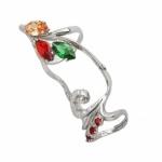 Серебряное кольцо Узор Утум K142-1