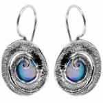 Серебряные серьги Yaffo с опалом SAE040