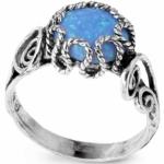 Серебряное кольцо Yaffo с опалом SAR127