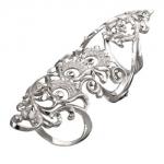 Серебряное кольцо Узор Утум K181