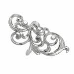 Серебряное кольцо Узор Утум K235