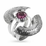 Серебряное кольцо Yaffo с аметистом SAR459