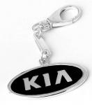Брелок для автомобиля из серебра KIA