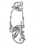 Серебряное кольцо Узор Утум K224