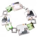 Серебряный браслет Monella с кристаллами Сваровски MOB0217