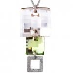 Серебряный кулон Monella с кристаллами Сваровски MOP0878