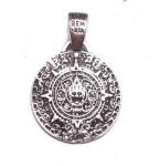 Кулон из серебра Календарь Майя MP0005