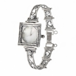 Серебряные часы Yaffo с перламутром 01-TZW050