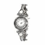 Серебряные часы Yaffo с жемчугом и фианитом 01-SAW631