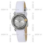 Часы из серебра c золотом и цирконом 01W700WCZ