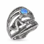 Серебряное кольцо Yaffo с опалом SAR532