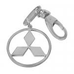 Брелок для автомобиля из серебра Mitsubishi