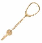 Брелок для ключей из золота