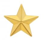Накладка на погоны Звезда из золота