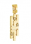 Подвеска из золота Ариадна 01П1310173