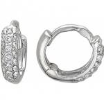 Серьги-кольца из серебра 01С154927