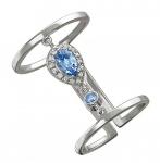 Кольцо из серебра 01К258084