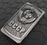 Зажим для денег из серебра СССР