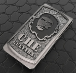 Зажим для денег Че Гевара серебро.