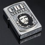 Зажигалка Zippo из серебра Че Гевара