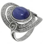 Кольцо из серебра с кианитом 01R961KT