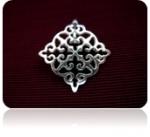 Серебряный кулон-оберег Узор Утум P096