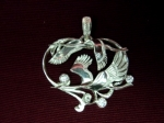 Серебряная подвеска Узор Утум P150