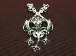 Серебряная подвеска Узор Утум P156