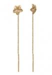 Серьги протяжки из золота 101С715537