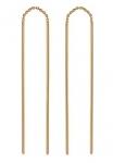 Серьги протяжки из золота 101С714776