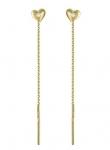 Серьги протяжки из золота 101С137247