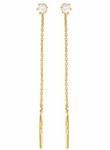 Серьги протяжки из золота 101С134754