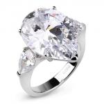 Серебряное кольцо Sandara Ice с фианитом LJR052