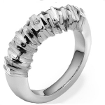 Серебряное кольцо Hot Diamonds с бриллиантом DR157