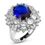 Серебряное кольцо Sandara Ice с фианитами CTR213