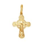 Крест серебряный нательный 01Р050902А