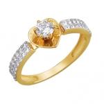 Кольцо из желтого золота 01К1310977Р