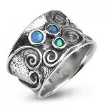Серебряное кольцо Yaffo с опалом TZR316