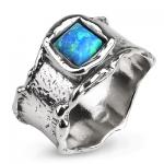 Серебряное кольцо Yaffo с опалом TZR258