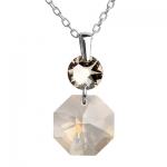Серебряный кулон Monella с кристаллами Сваровски MOP358