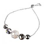 Серебряный браслет Monella с кристаллами Сваровски MOB360