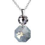 Серебряный кулон Monella с кристаллами Сваровски MOP355
