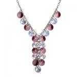 Серебряный кулон Monella с кристаллами Сваровски MON334