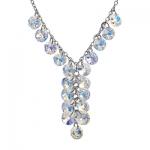Серебряный кулон Monella с кристаллами Сваровски MON332