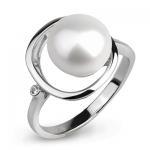 Серебряное кольцо De Luna с жемчугом FRR010