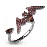 Серебряное кольцо Sandara с раухтопазом ABR028