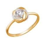 Кольцо из красного золота 01К1111473Р