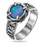 Серебряное кольцо Yaffo с опалом SAR896
