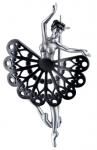 Брошь - булавка из серебра 1Ш050174-50