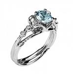 Золотое кольцо с бриллиантами 01К629681-3